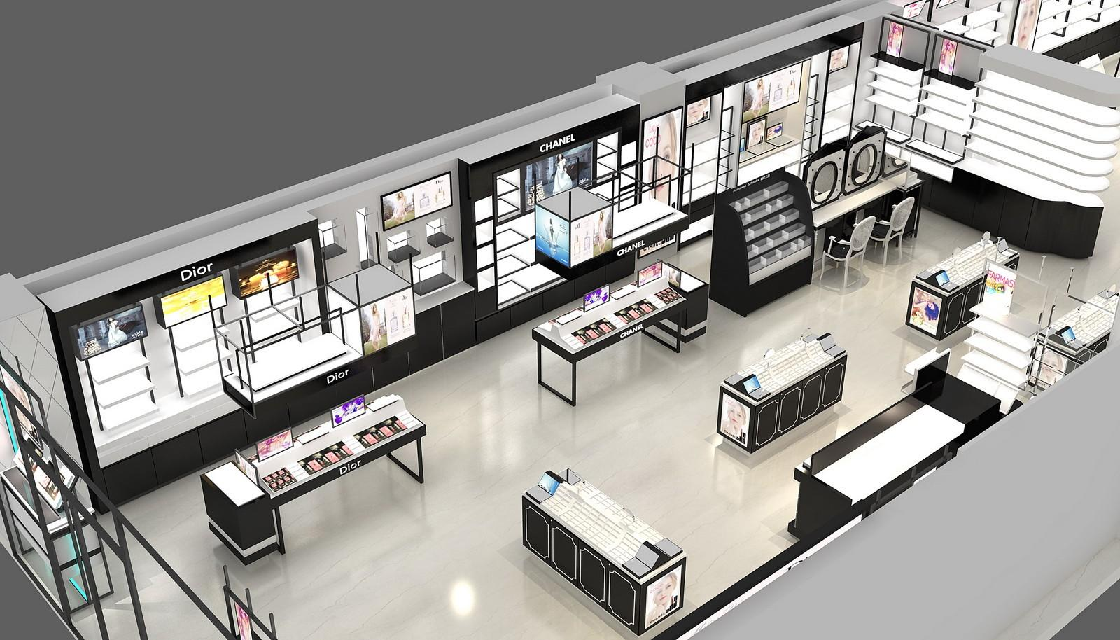 decoration beauty cosmetic shop store OUYEE Brand company