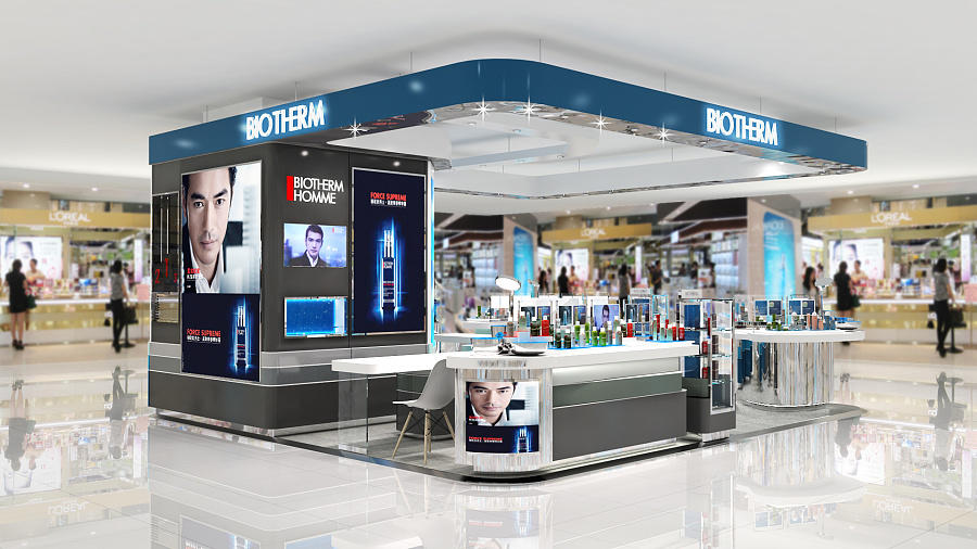 one-stop professional makeup display stands top brand for decoration OUYEE