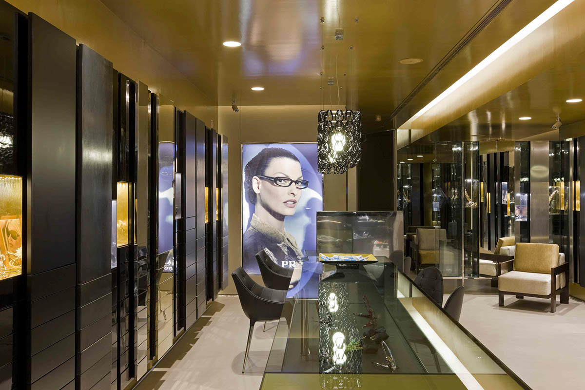 top brand optical showroom furniture hot-sale for shop OUYEE