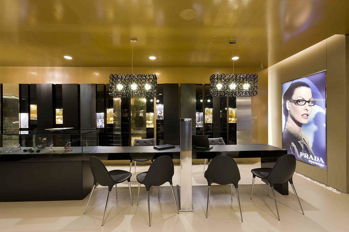 top brand optical showroom furniture hot-sale for shop OUYEE-4