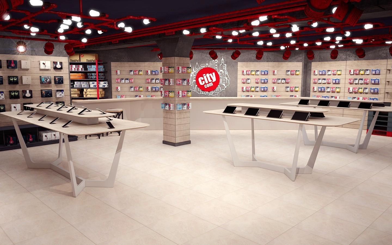 Wholesale showcase electronic shop display OUYEE Brand