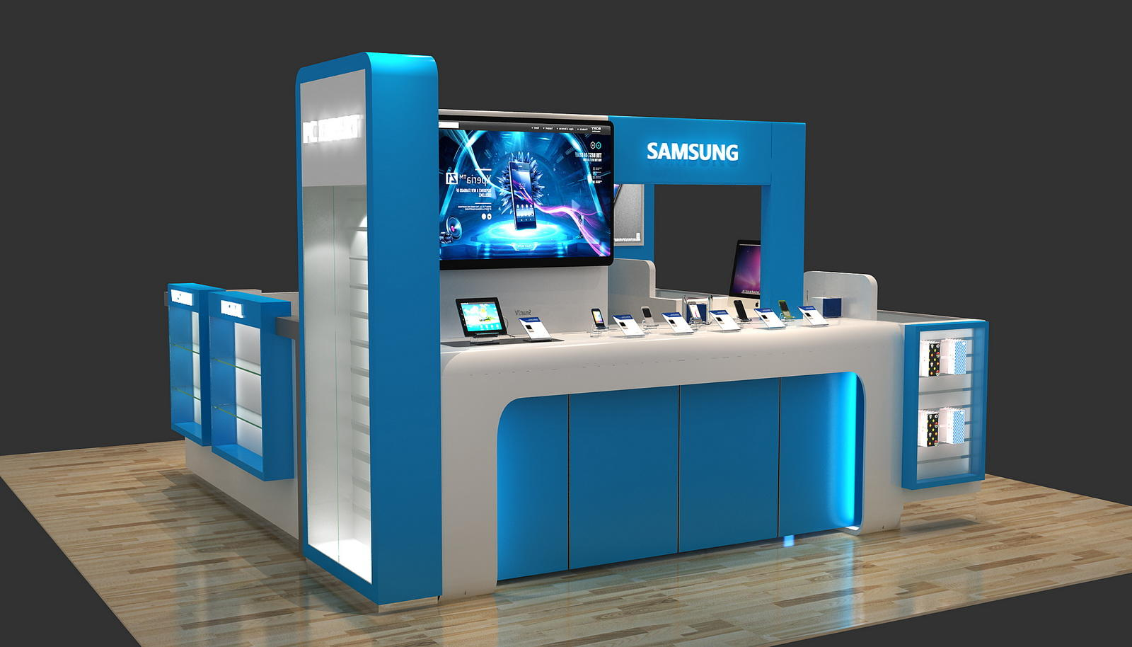 Top Brand Mobile Shop Interior Design Ideas Showcase Fast Delivery For Store Ouyee