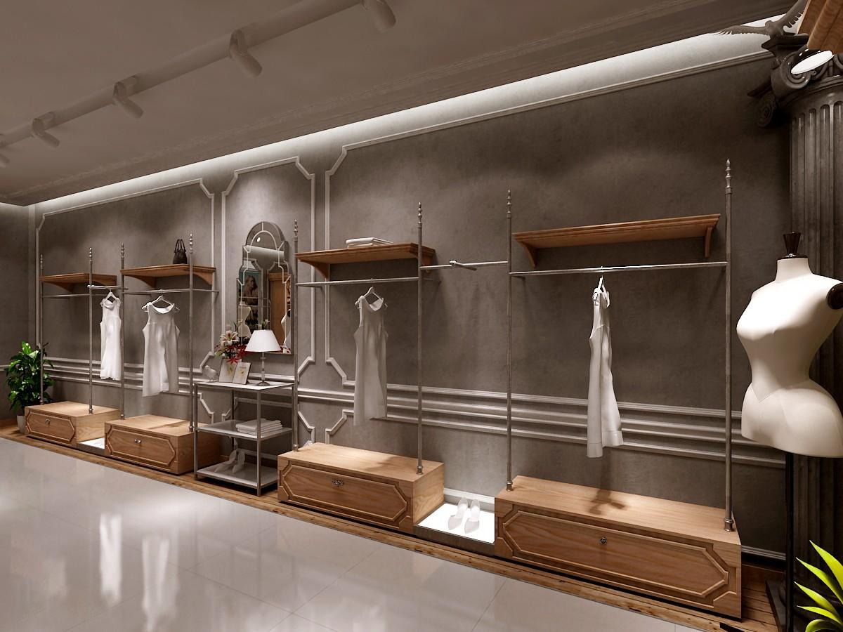 OUYEE Brand menswear counter design clothing shelves