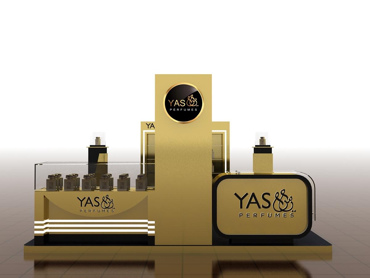 perfume wall organizer custom for decoration OUYEE-4