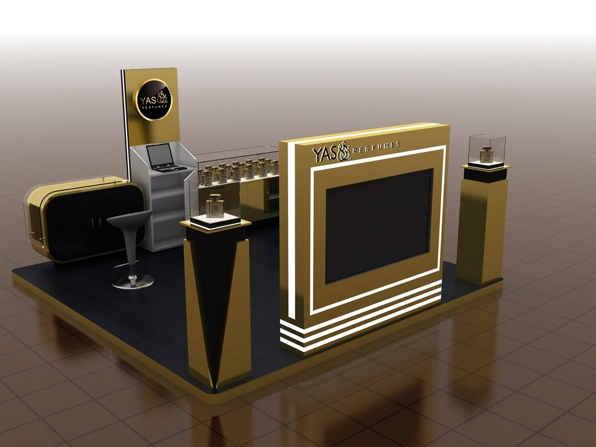 perfume wall organizer custom for decoration OUYEE-7