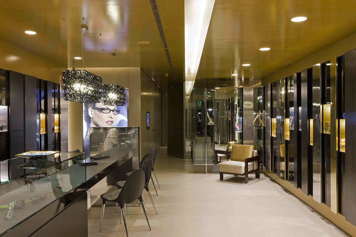 top brand optical showroom furniture hot-sale for shop OUYEE-2