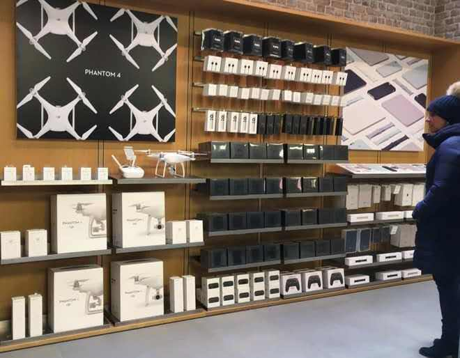 showcase electronic shop interior design fast installation for electronics OUYEE-1