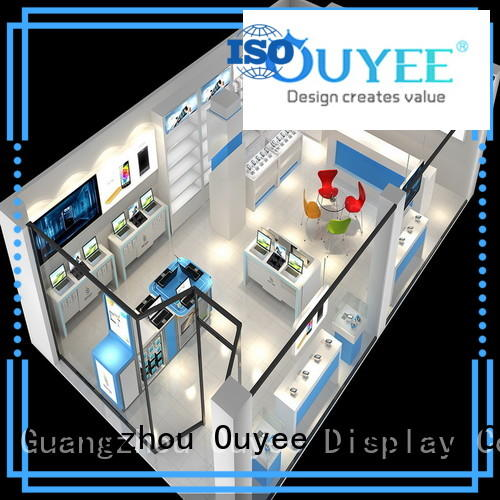 OUYEE top brand mobile display table fast delivery for electronics
