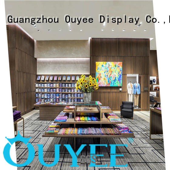 high-end retail clothing store furniture cheapest price for show room OUYEE
