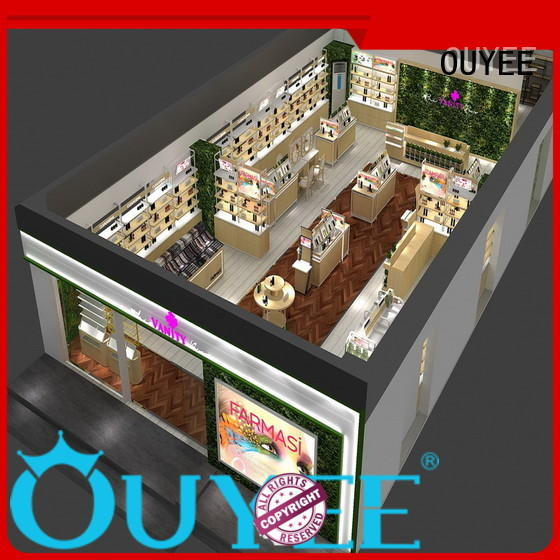 OUYEE custom makeup station furniture high-end for wholesale