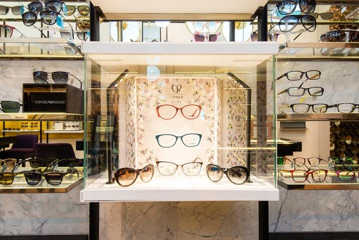 OUYEE custom eyewear display case top brand for chain shop-2