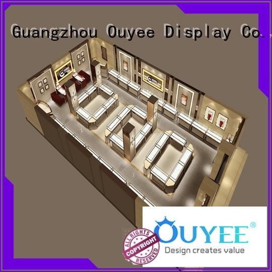 commercial commercial jewelry display ODM for store OUYEE