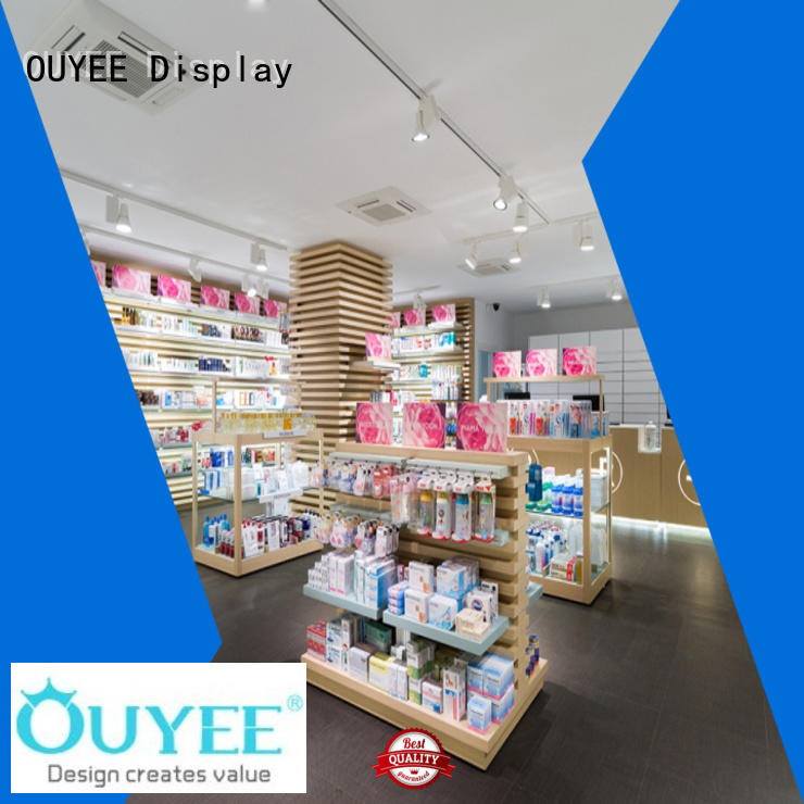 OUYEE high-quality pharmacy counter design modern for hospital