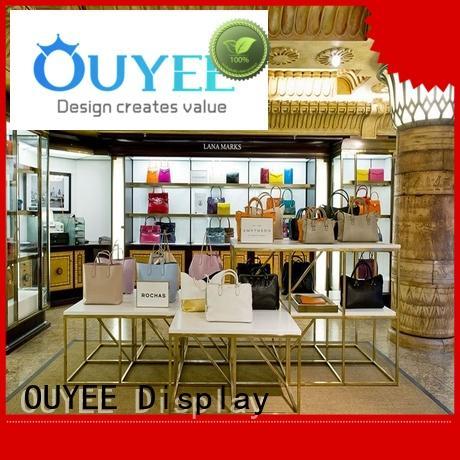 Hot wooden shoe rack designs bag OUYEE Brand