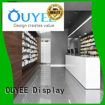 pharmacy counter design medicine design Warranty OUYEE
