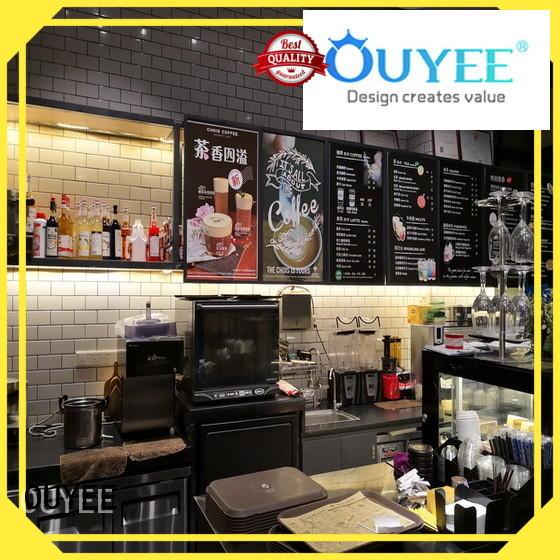 commercial Custom shop coffee shop design bar OUYEE
