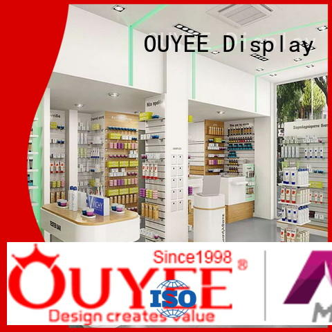 Wholesale decoration shop pharmacy counter OUYEE Brand