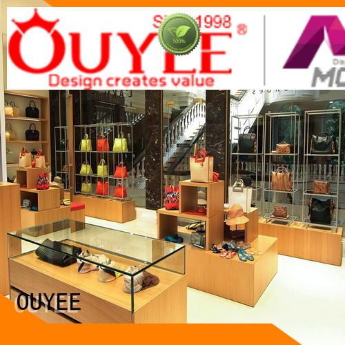 wooden shoe cabinet furniture shelf footwear OUYEE Brand