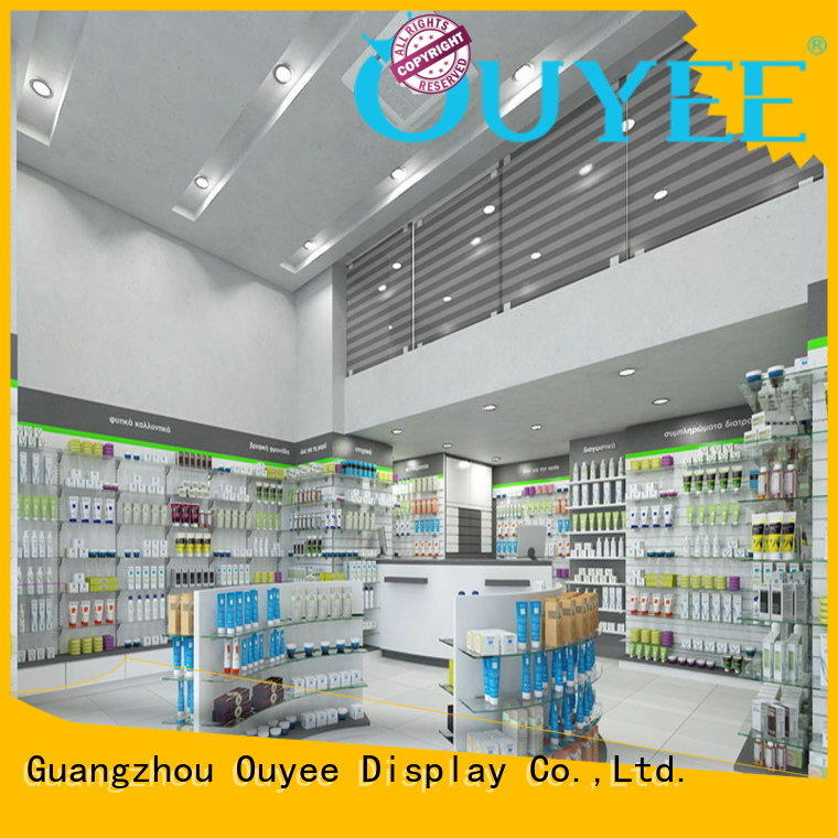 drugstore pharmacy counter store supplies OUYEE company