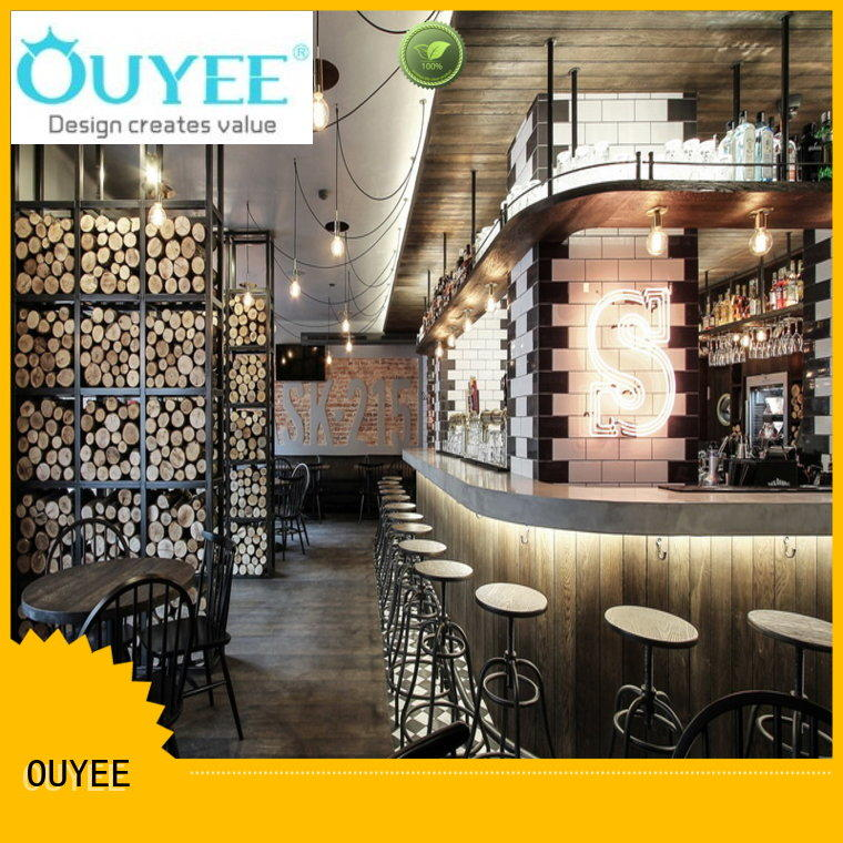 commercial take away coffee shop design modern for restaurant OUYEE