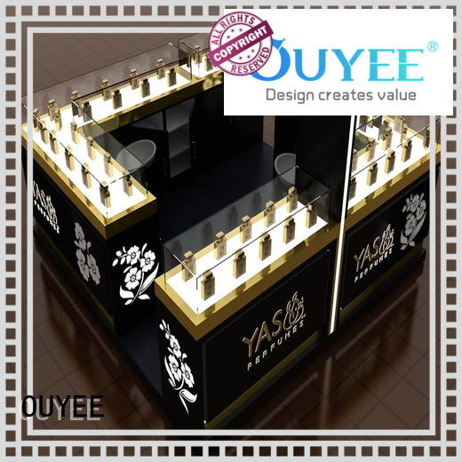 OUYEE Brand table mall furniture stand perfume stand