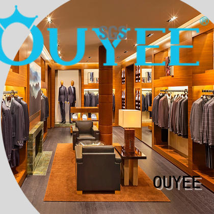 OUYEE fast installation clothing display high quality underwear display