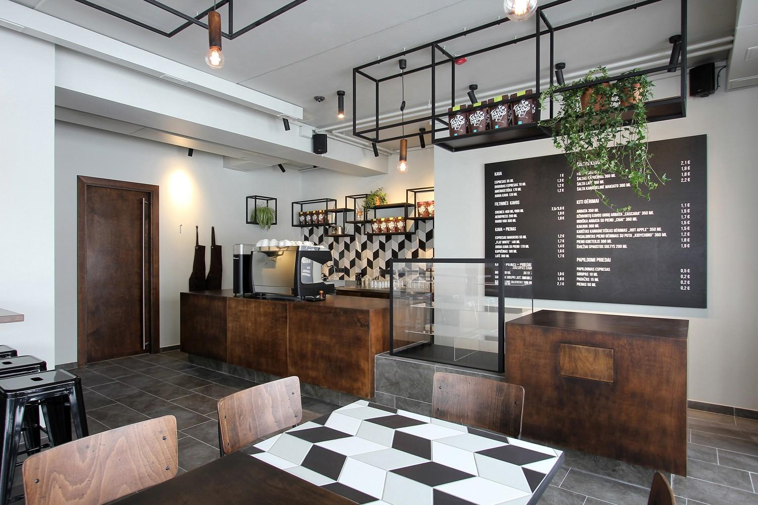 OUYEE chic coffee cafe interior design modern for club-1