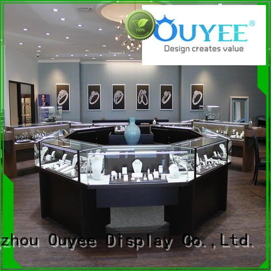 Hot jewellery shop design floor OUYEE Brand