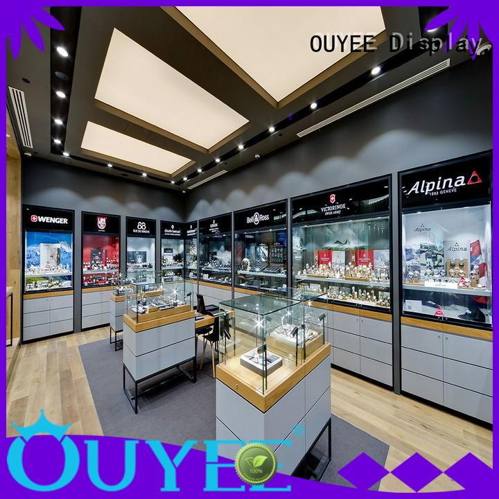 OUYEE Brand sale ideas floor displays jewellery shop design