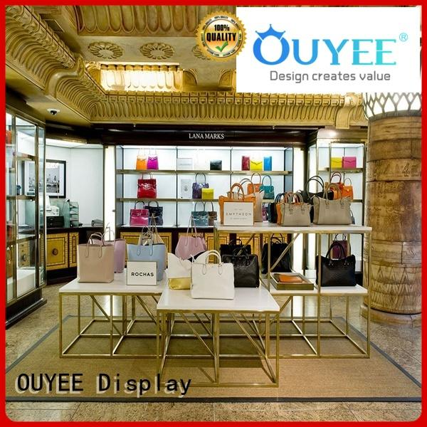 OUYEE chic shoe shop interior design eye-catching for business