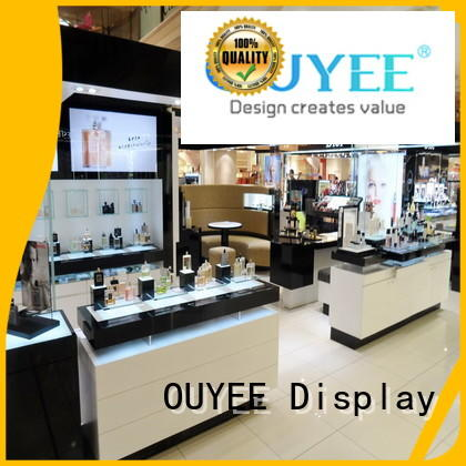 OUYEE Brand interior counter cosmetic shop manufacture