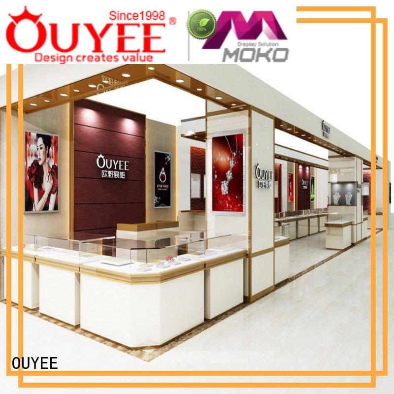 OUYEE Brand cabinet jewellery jewellery shop showcase design shop