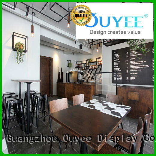 OUYEE Brand bar commercial station shop coffee shop design