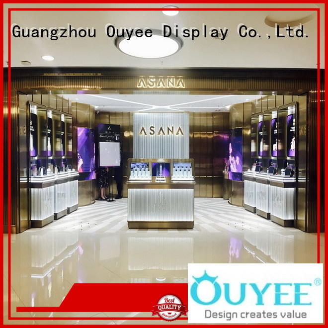 one-stop wooden showcase design cheapest factory price for wholesale