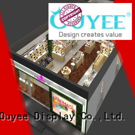 OUYEE durable makeup display case beauty for wholesale