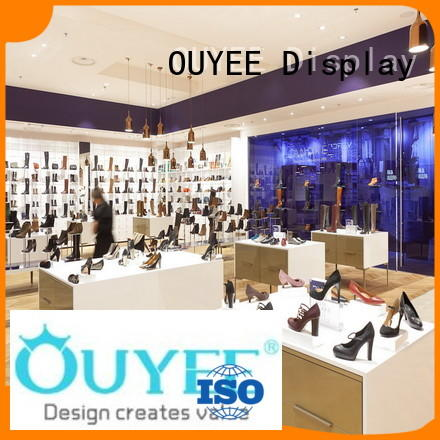 OUYEE Brand cabinet shoes wooden shoe rack designs manufacture