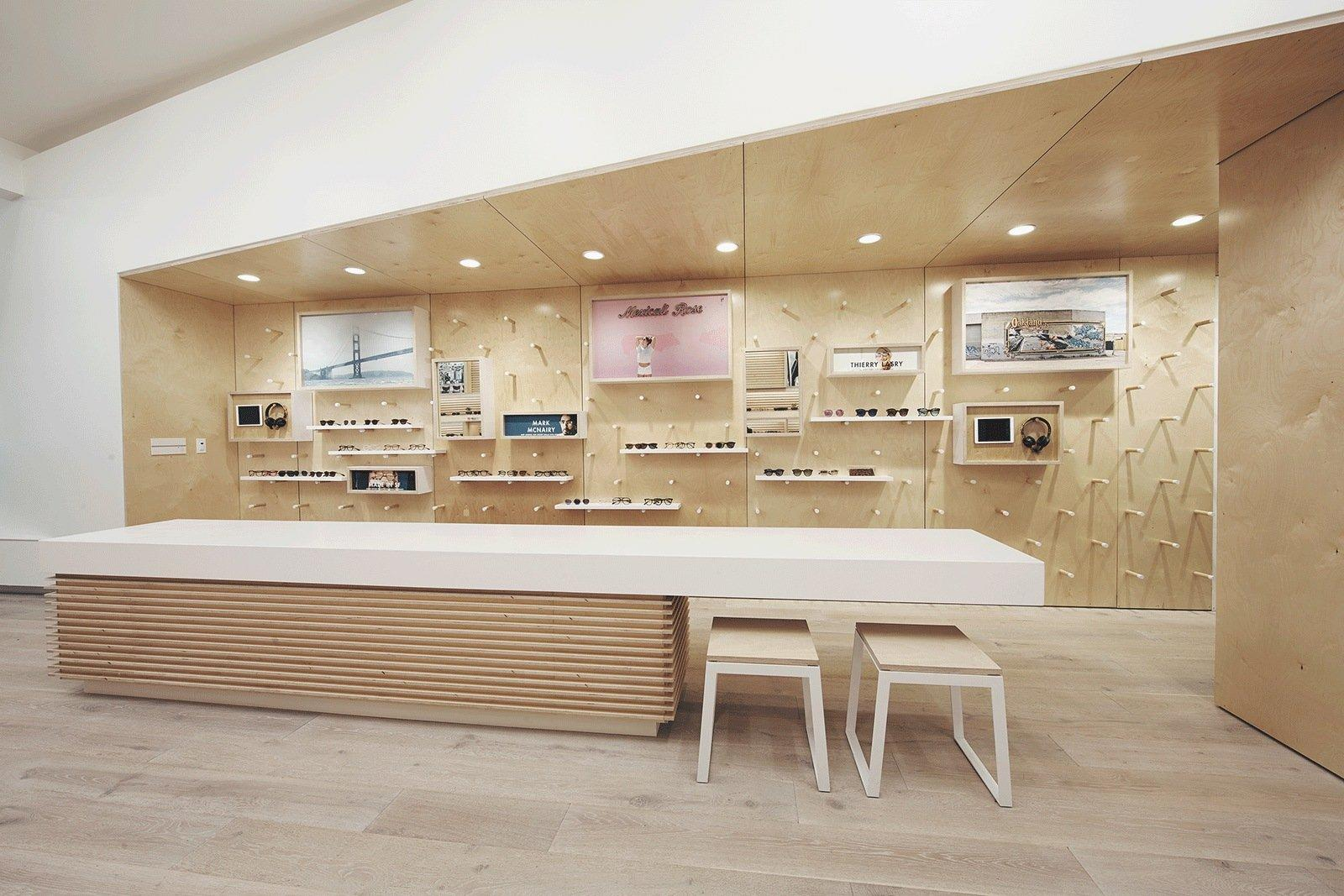 Optical Display Furniture