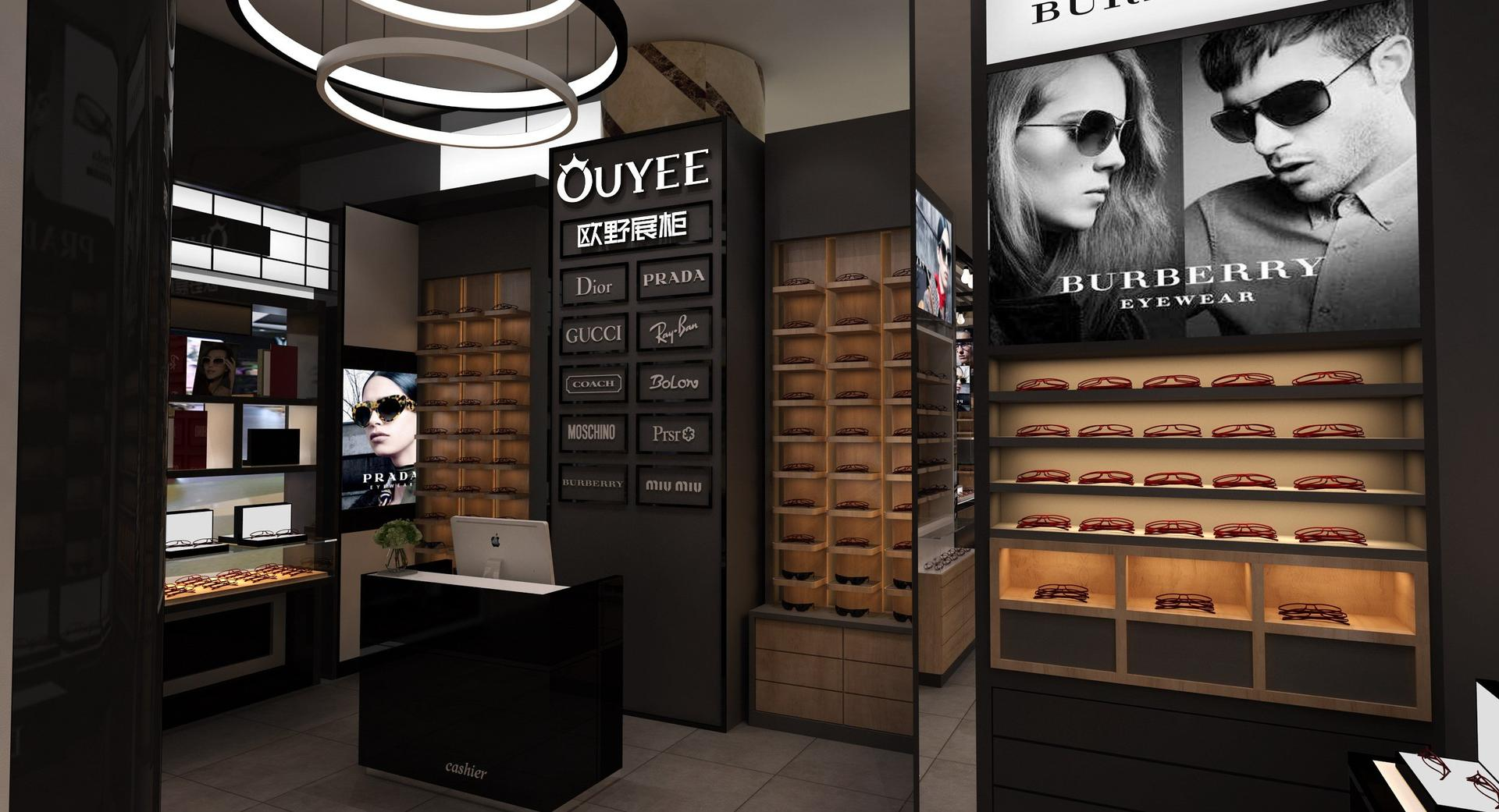Optical Shop Design Display Furniture