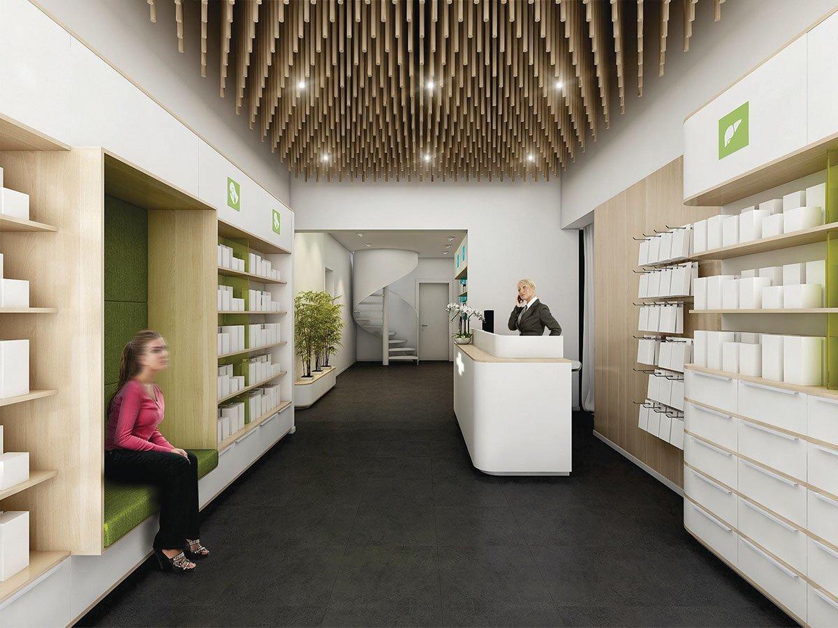 Retail Pharmacy Shop Interior Design