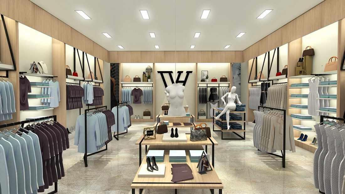 Garments Showroom Display