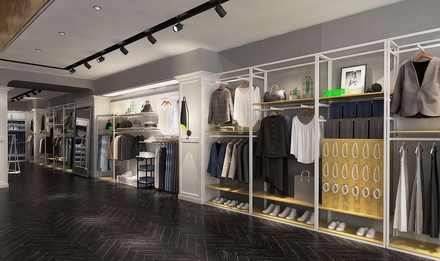 Clothing Shop Interior Design