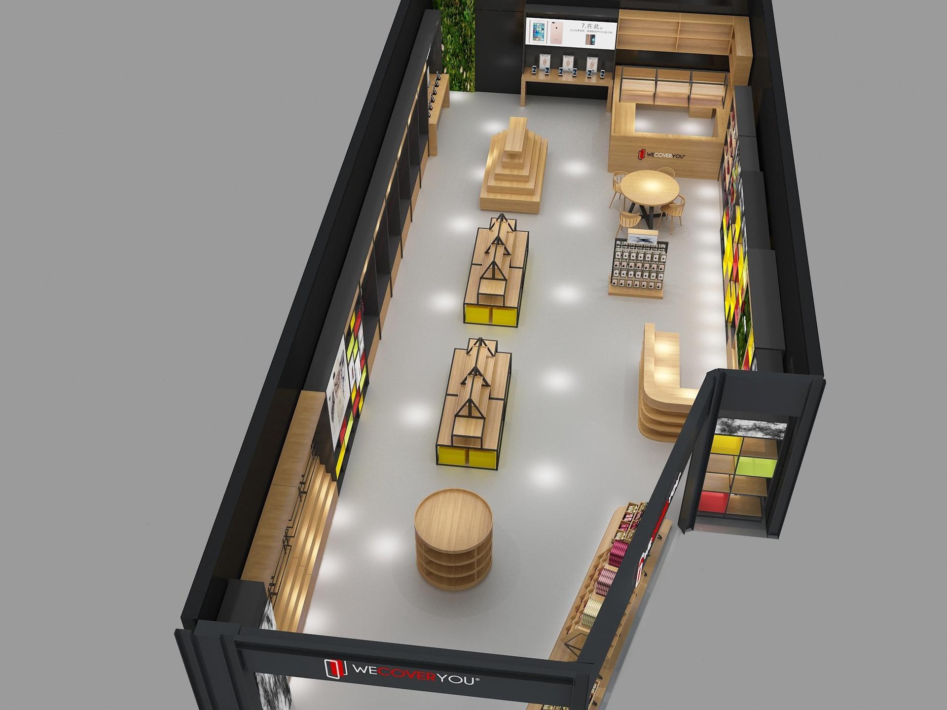 Electronic Shop Display