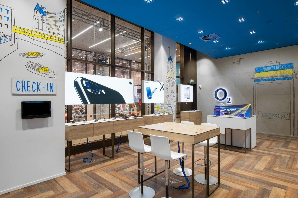 Mobile Shop Design