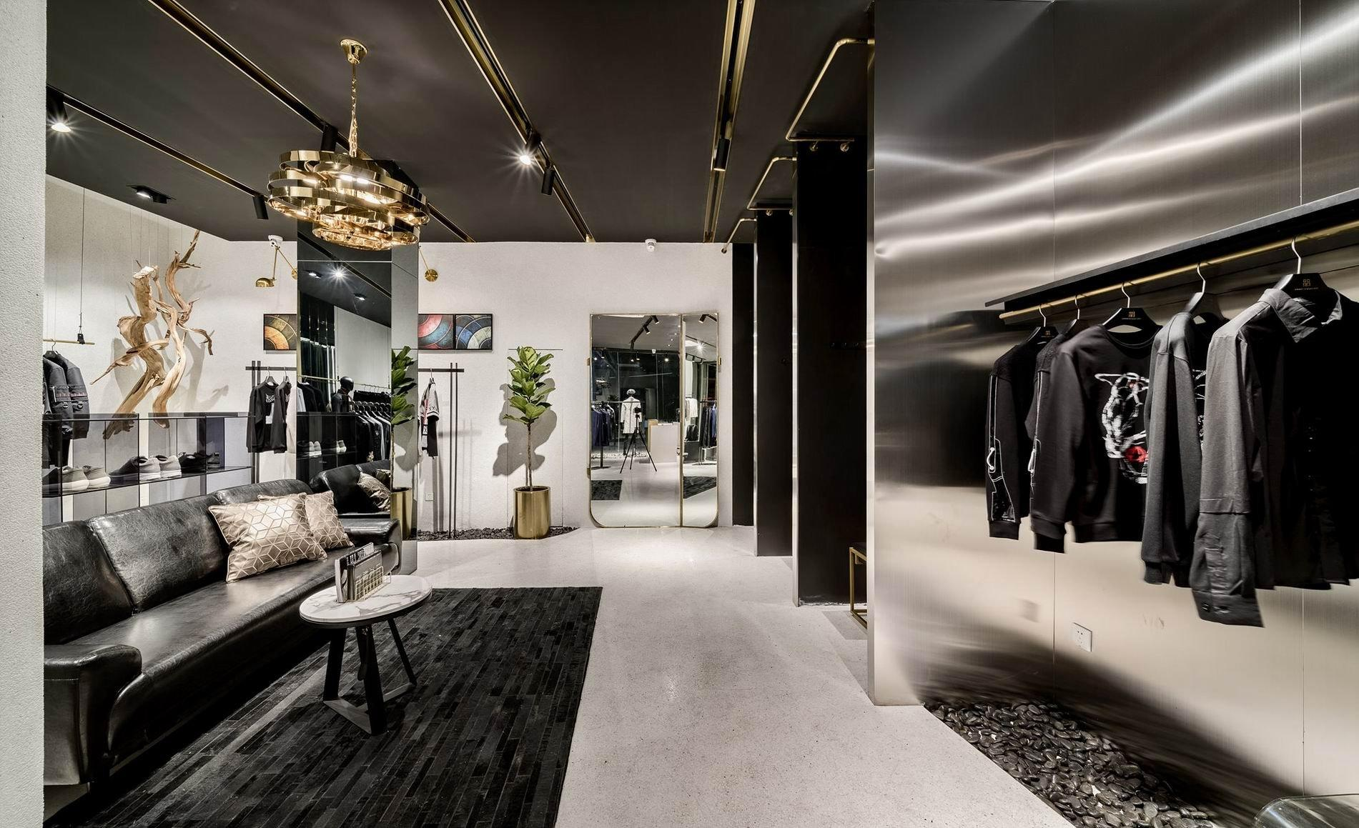 Men's Clothing Shop Interior Design