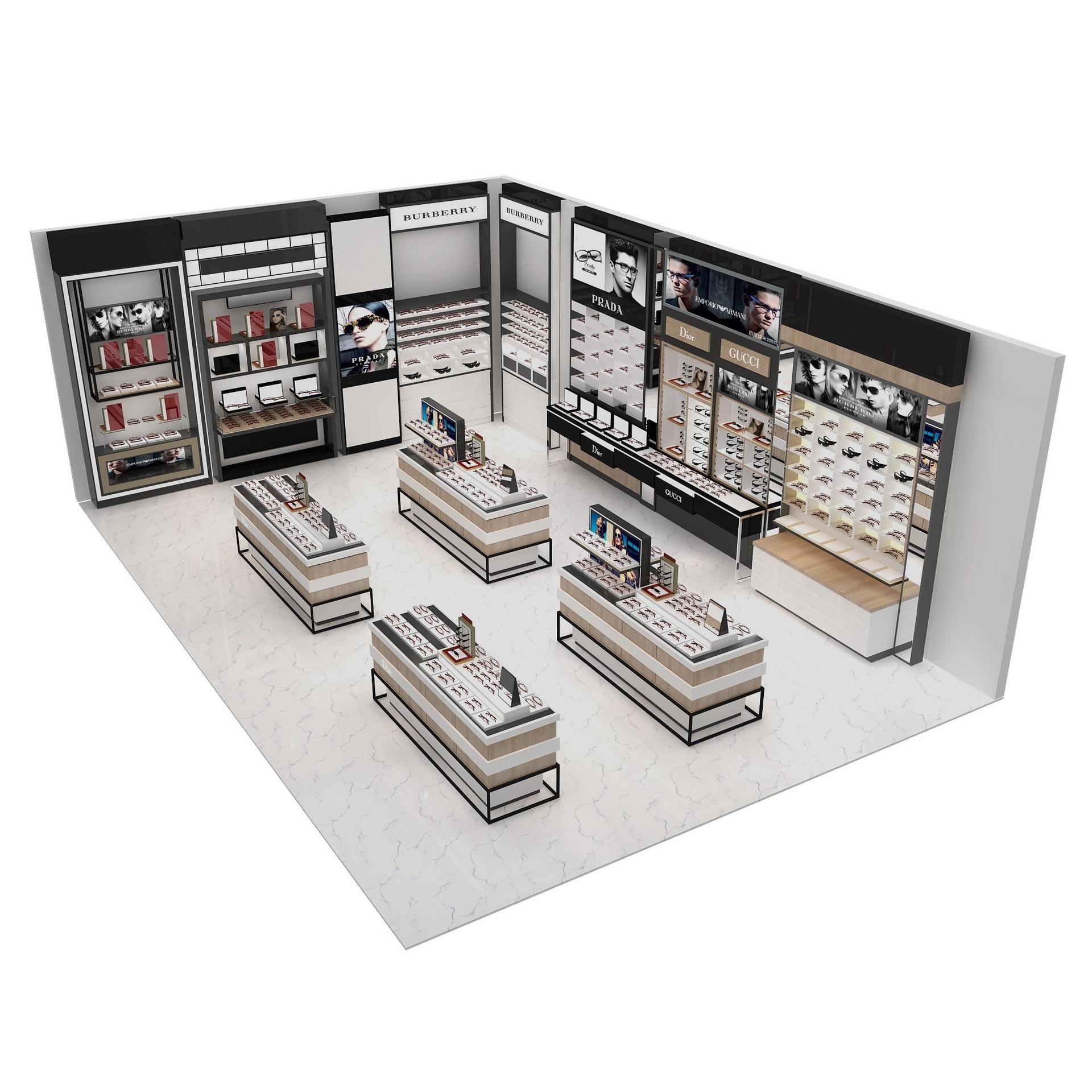 Mobile Shop Display Cabinet