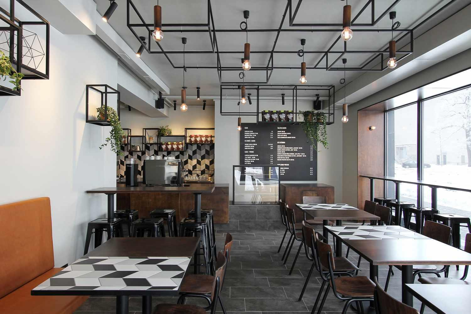 Coffee Shop Decoration Designs