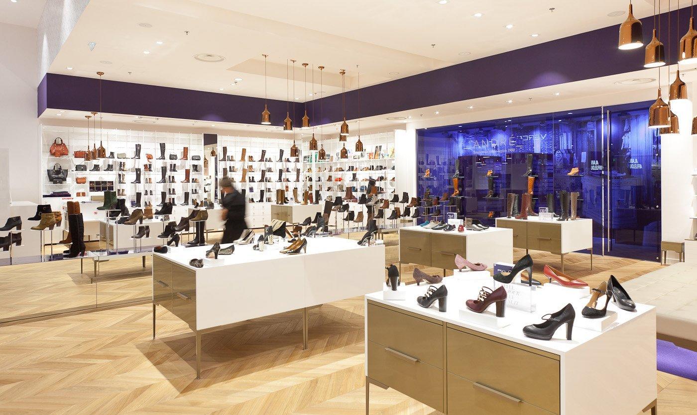 Shoes Shop Interior Design