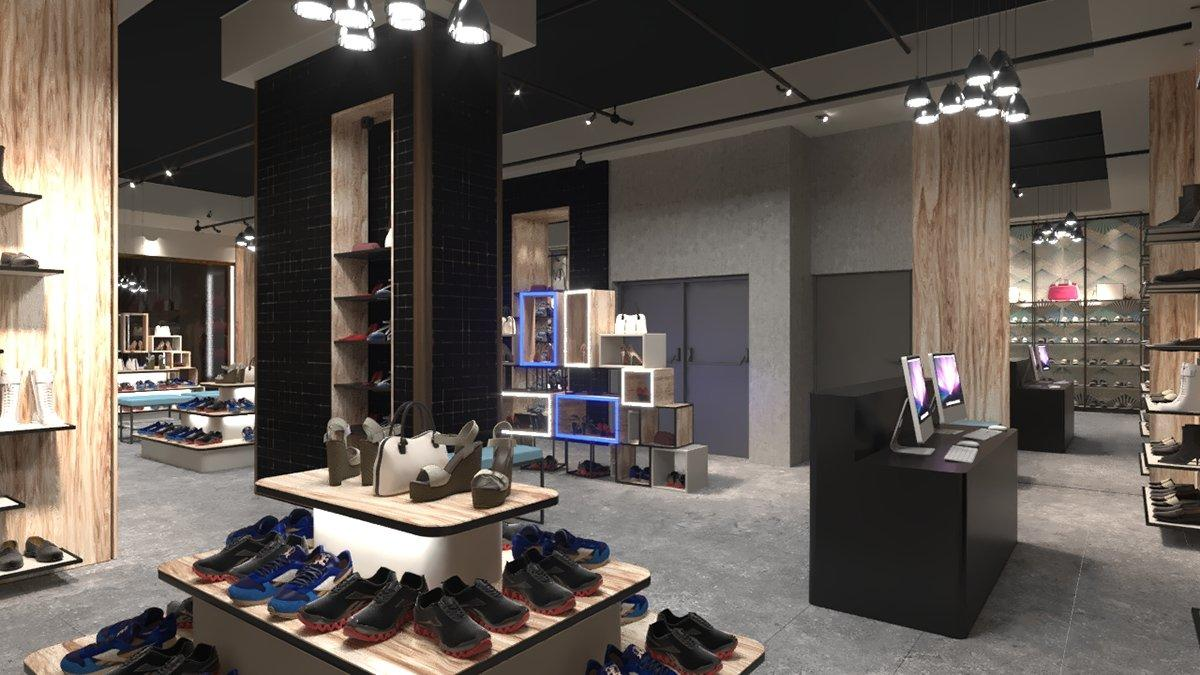 Shoes Showroom Design