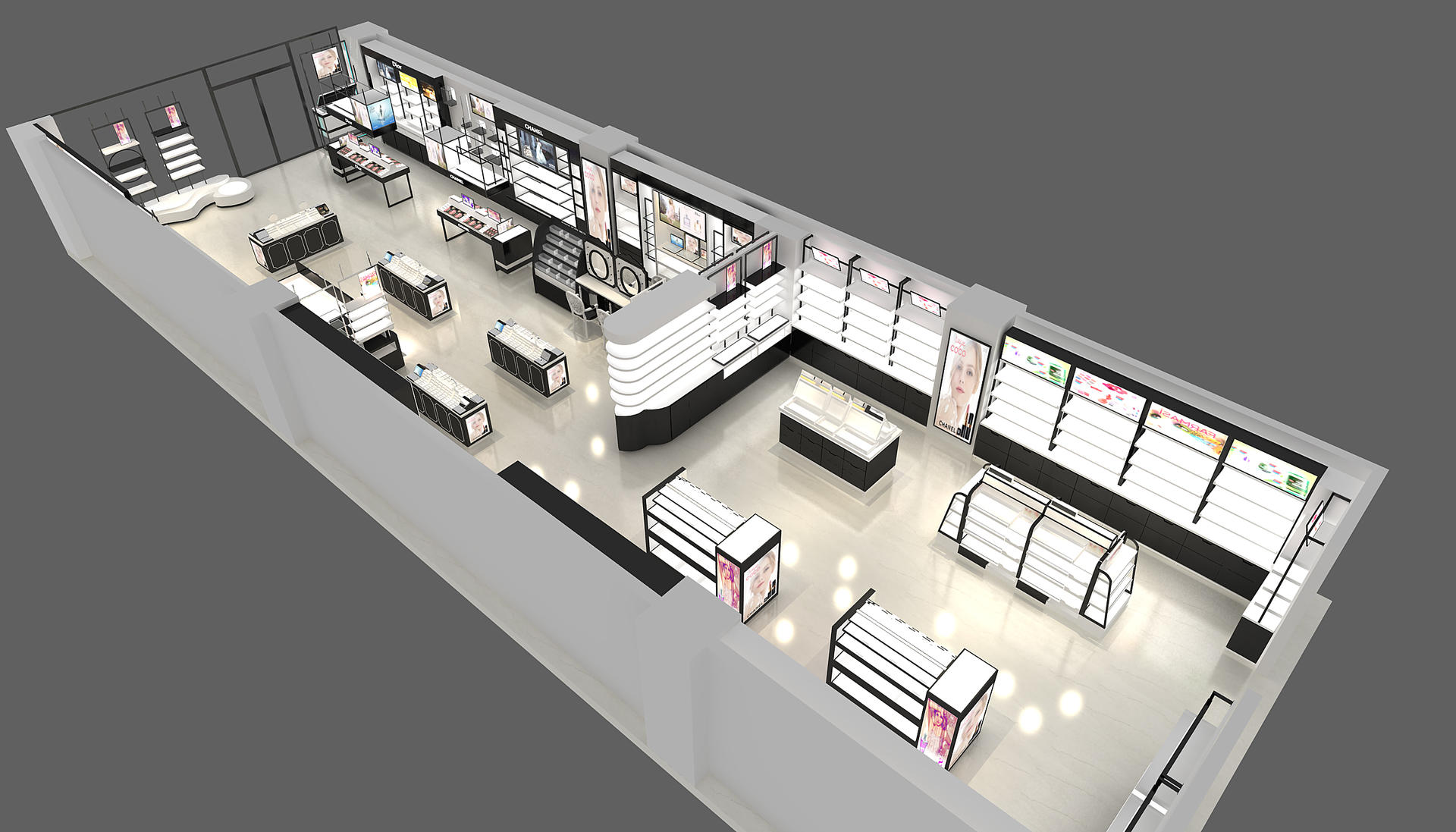 Cosmetics Store Furniture