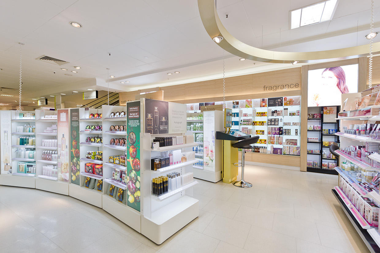 Beauty Products Store Design